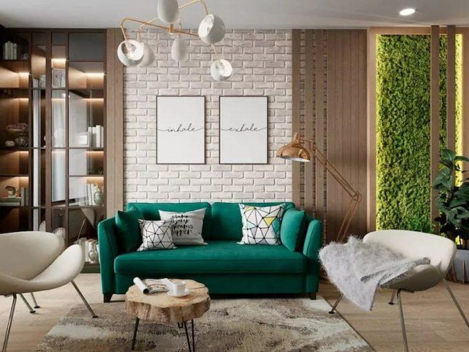 Đắm chìm trong căn hộ xanh ngọc mang phong cách Scandinavian đặc sắc
