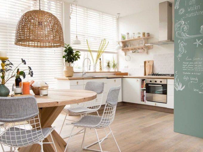 Phòng ăn nhỏ phong cách Scandinavian – mang lại nguồn hứng khởi ăn uống