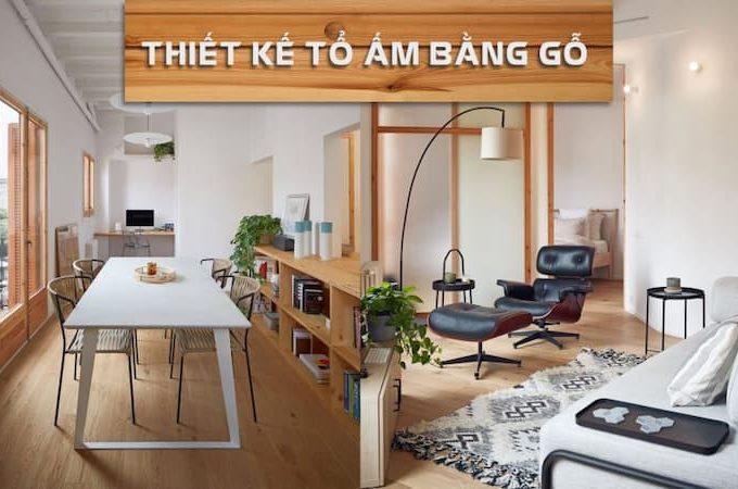 Chất liệu gỗ cho căn hộ chung cư của đôi vợ chồng trẻ thêm phần ấm áp
