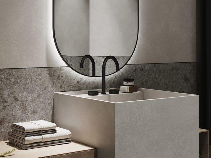Nhà tắm đẹp đơn giản vẫn khiến bạn mê mẫn