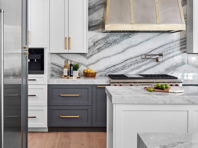Điểm danh những mẫu thiết kế bếp hiện đại với đá Marble sang trọng