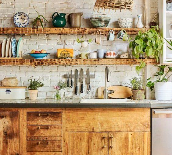 Phòng bếp đẹp phong cách Bohemian – Khơi nguồn cảm hứng cho tình yêu nấu nướng