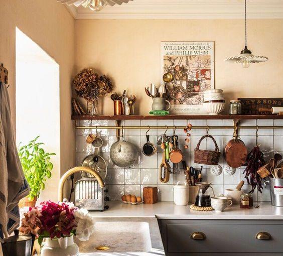 Sưởi ấm trái tim với những mẫu nhà bếp đẹp, ấm cúng