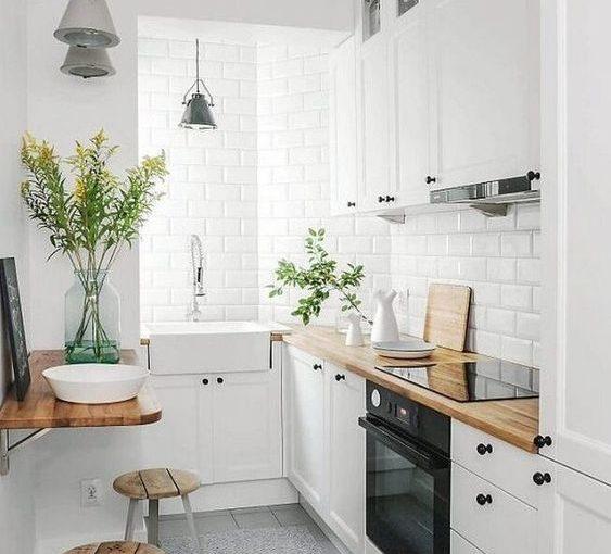 7749 ý tưởng cho nhà bếp nhỏ đẹp, tận dụng tối đa không gian sống