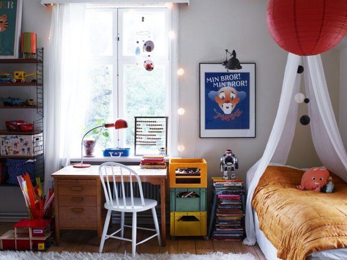 Các mẫu phòng ngủ đẹp tràn đầy màu sắc cho con yêu