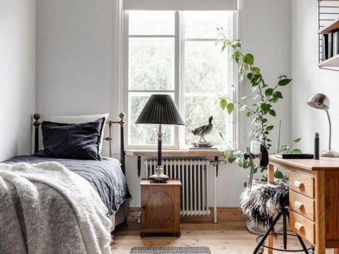 Thiết kế phòng ngủ nhỏ, đơn giản mà tinh tế