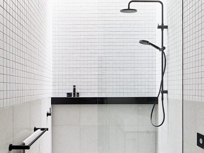Phòng tắm đơn giản không cầu kỳ về chi tiết