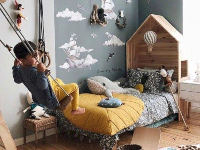 Mẫu trang trí phòng ngủ đẹp như một khu vui chơi