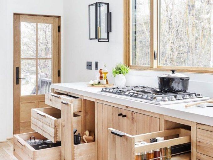 Gợi ý những cách bố trí nội thất thông minh khi thiết kế bếp nhỏ