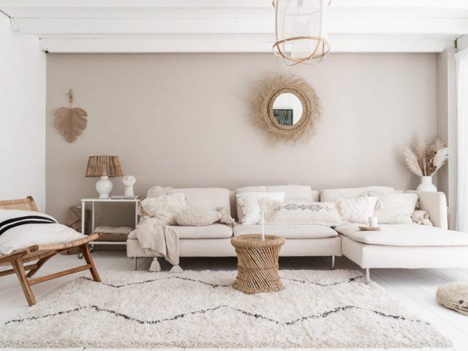 Mẫu phòng khách đẹp với phong cách Scandinavian độc đáo