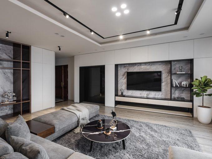 Thiết kế nội thất chung cư hiện đại sau khi cải tạo lại