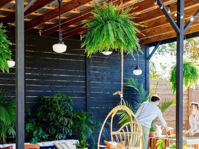 Các mẫu sân vườn đẹp cùng cách bố trí bàn ghế ấn tượng