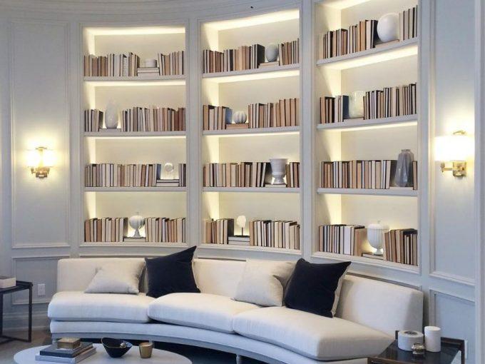 Kệ sách xinh xắn – món nội thất chung cư đẹp không thể thiếu