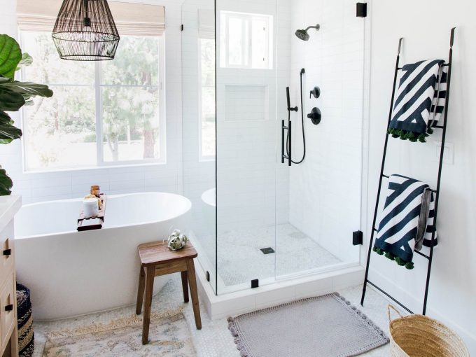 Xu hướng thiết kế phòng tắm phong cách Scandinavian tối giản