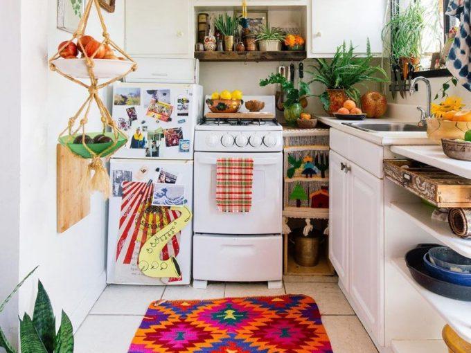 """""""Bắt mạch"""" ý tưởng thiết kế nội thất chung cư đẹp theo phong cách Bohemian"""