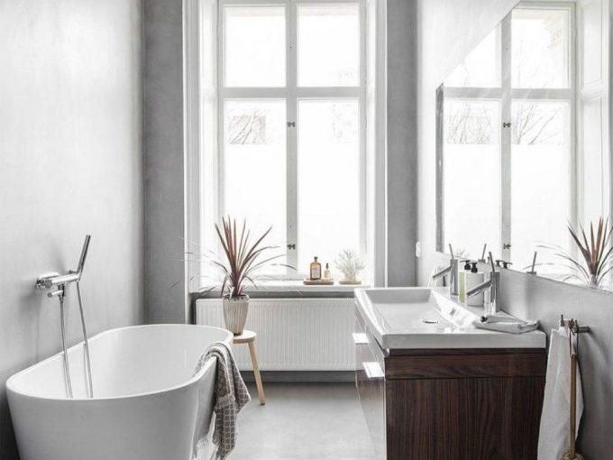 Những mẫu phòng tắm đẹp hiện đại và tối giản
