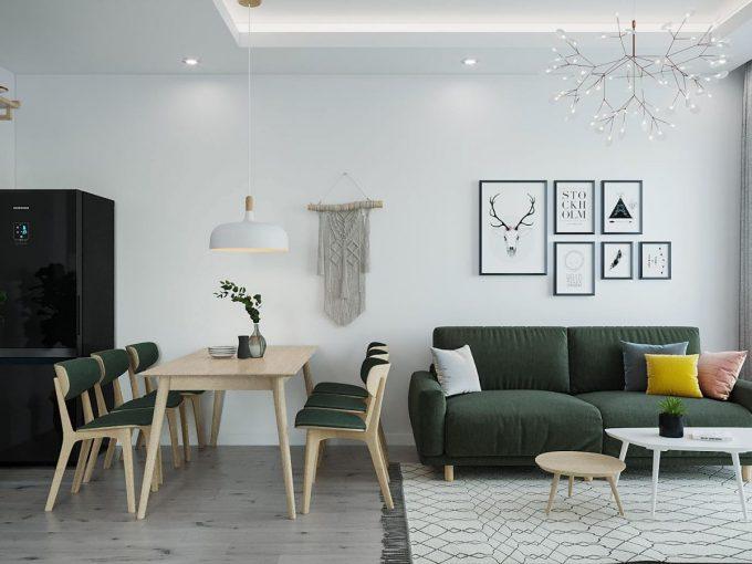 Bật mí mẫu thiết kế nội thất chung cư đẹp phong cách Bắc Âu ai cũng mê