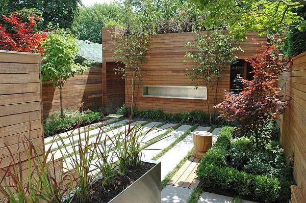 10 mẫu sân vườn nhà phố đẹp mang lại không gian xanh cho ngôi nhà của bạn