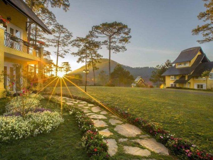 Đi tìm các homestay Đà Lạt có sân vườn cực đẹp