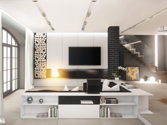 Những mẫu thiết kế phòng khách hiện đại